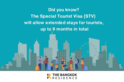 "The Thai Government will allow extended stays for tourists, up to 9 months with a ""Special Tourist Visa"""