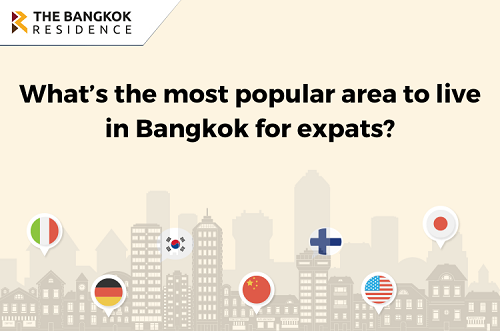 What's the most popular area to live in Bangkok for expats?