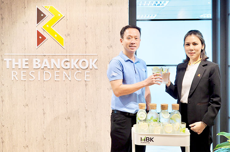 MBK Guarantee (MBKG) teams up with The Bangkok Residence (BR) to stand up for the environment.